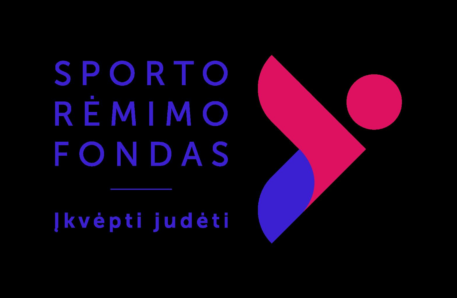 """""""Įkvėpti judėti"""" – naujas Sporto rėmimo fondo šūkis ir ženklas"""