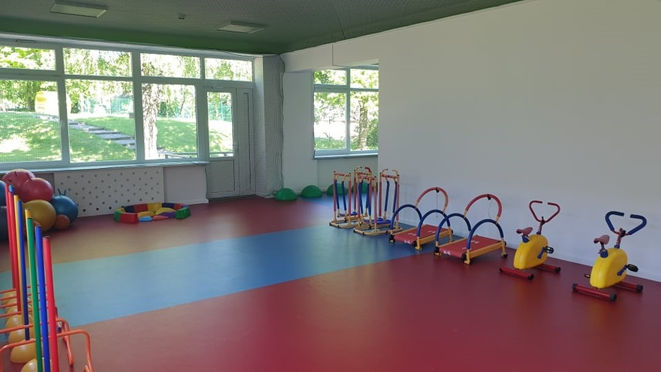 Atnaujinta lopšelio-darželio sporto salė atvira visiems anykštėnams